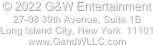 © 2018 G&W Entertainment 